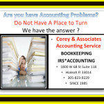 Hialeah Accountant will assist you with any of your accounting issues